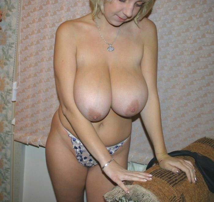 Amateur Blonde With Really Big Boobs  Russian Sexy Girls-6305