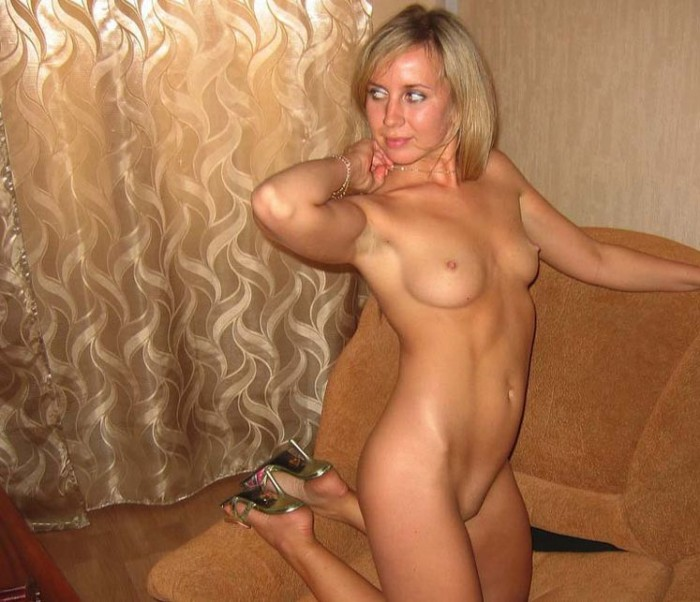 nice tits milf with Blonde