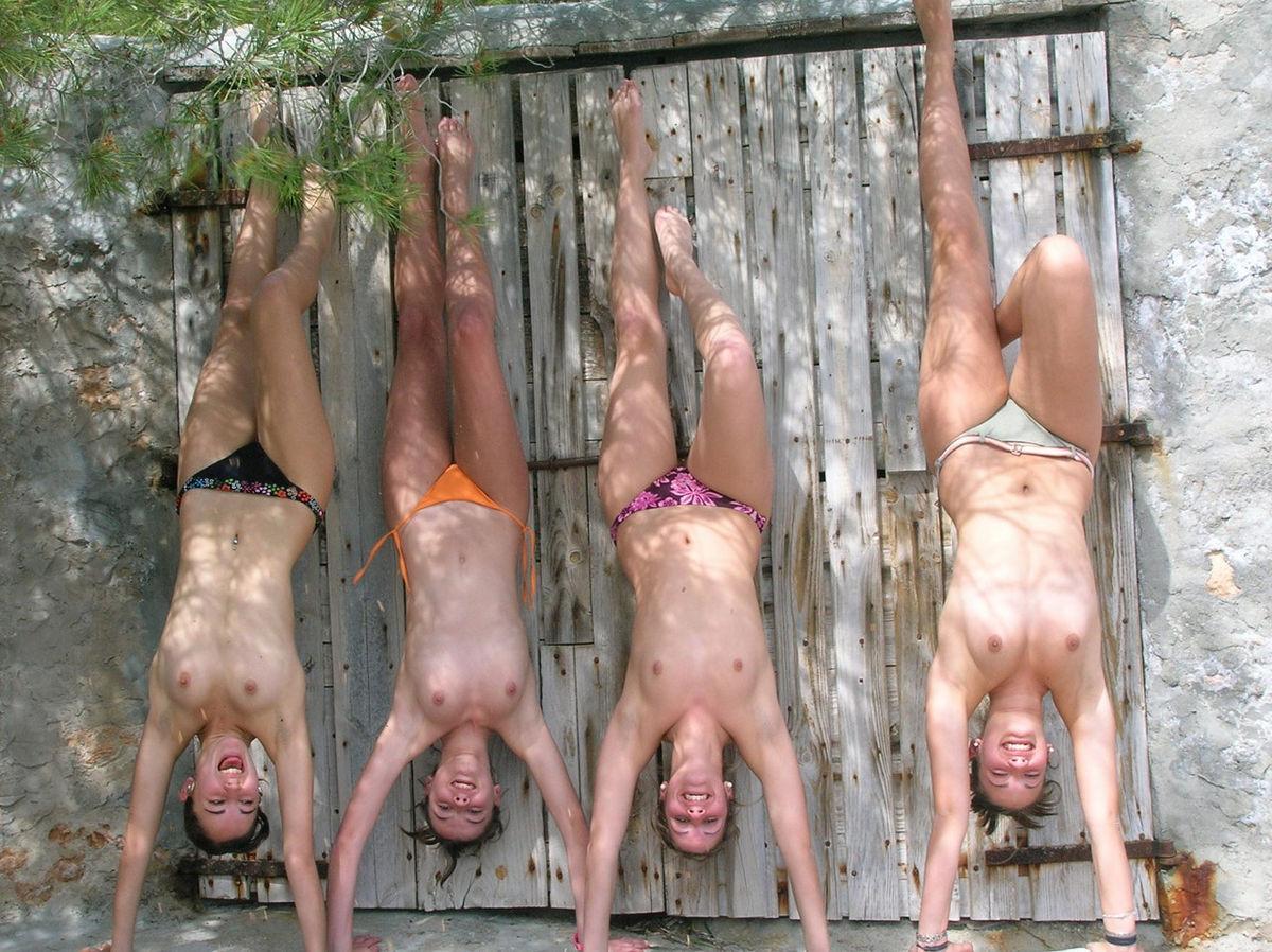 Naked Girl Four Wheeler