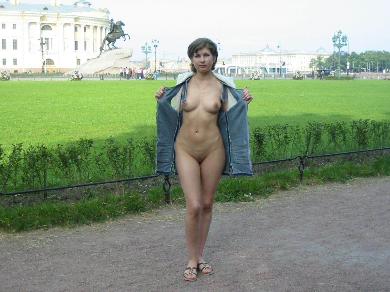 public flashing of boobs gallery