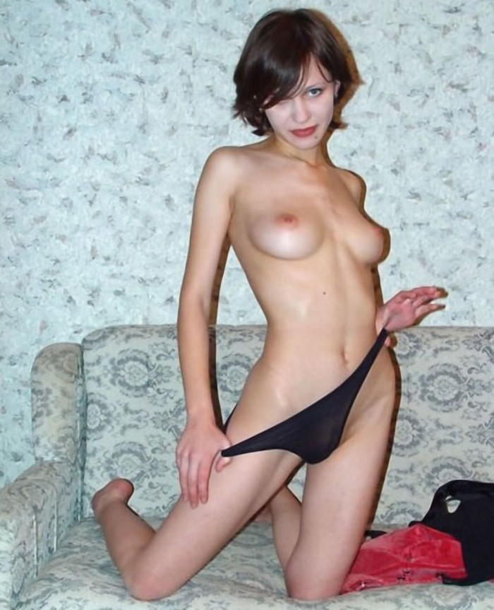 Russian Teen With Nice Tits