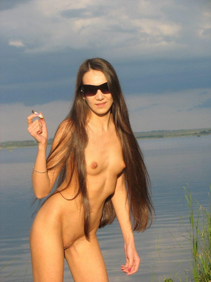 Skinny russian girl by the river.jpg