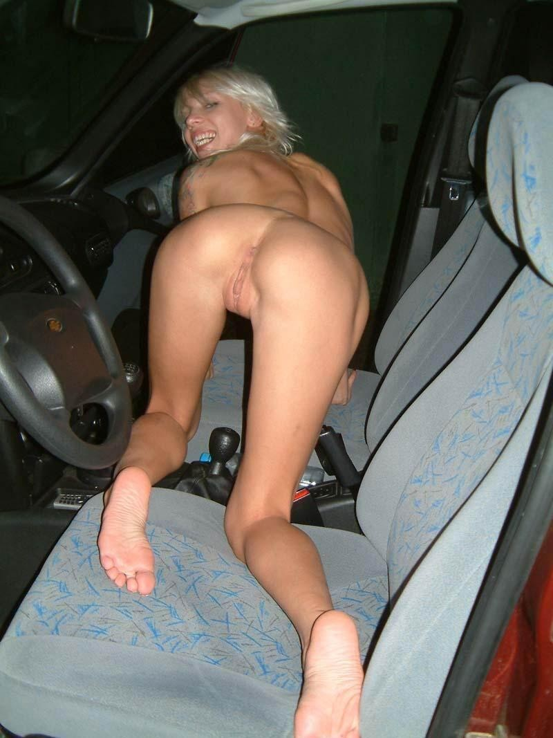 amateur nude in cars