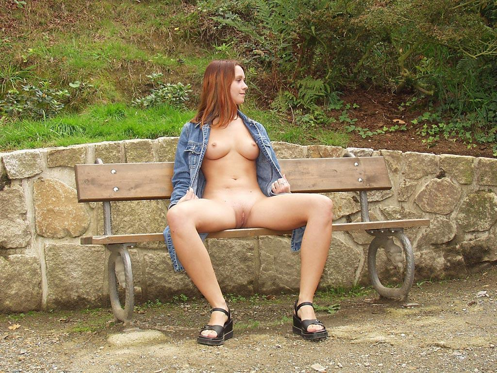 Sexy girls in public