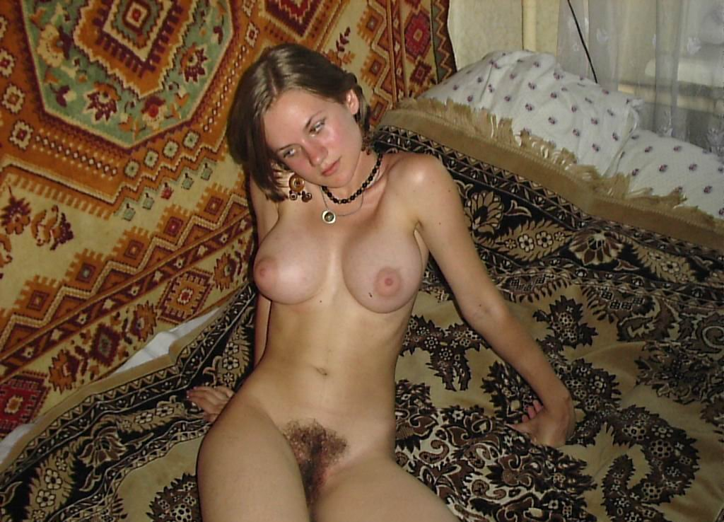 Teen With Realy Big Boobs And Hairy Pussy  Russian Sexy Girls-4958