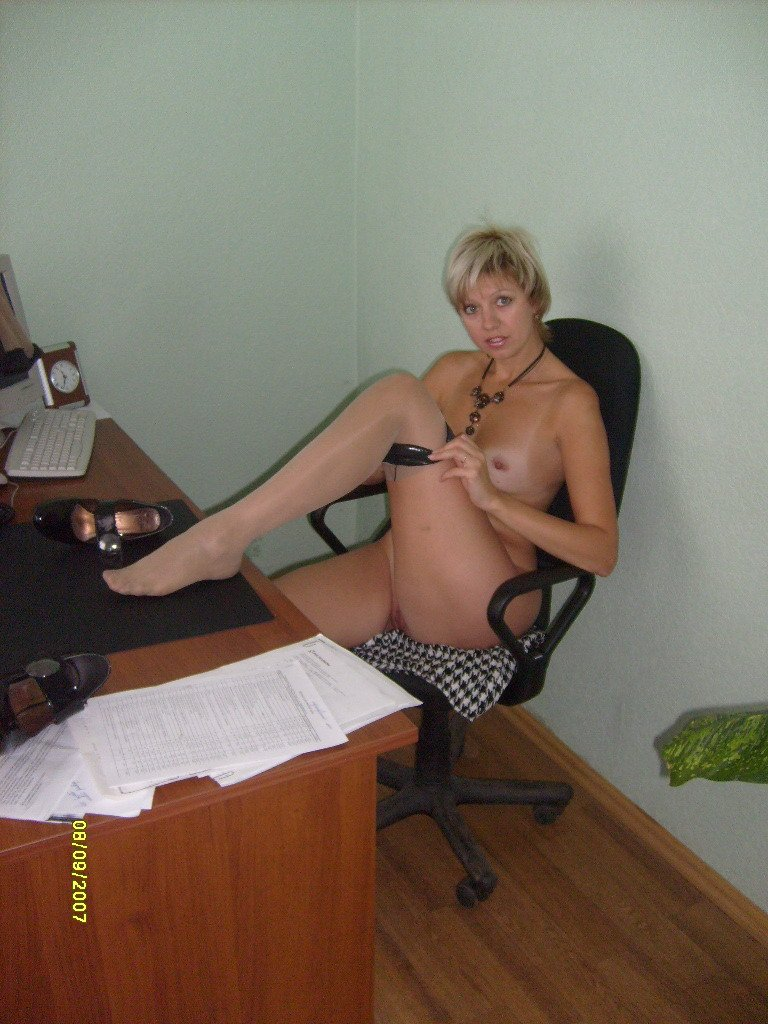 Russian Milf At Office And Home  Russian Sexy Girls-5191