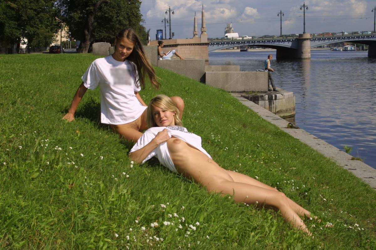 two sexy girls shows boobs and pussy at public | russian sexy girls