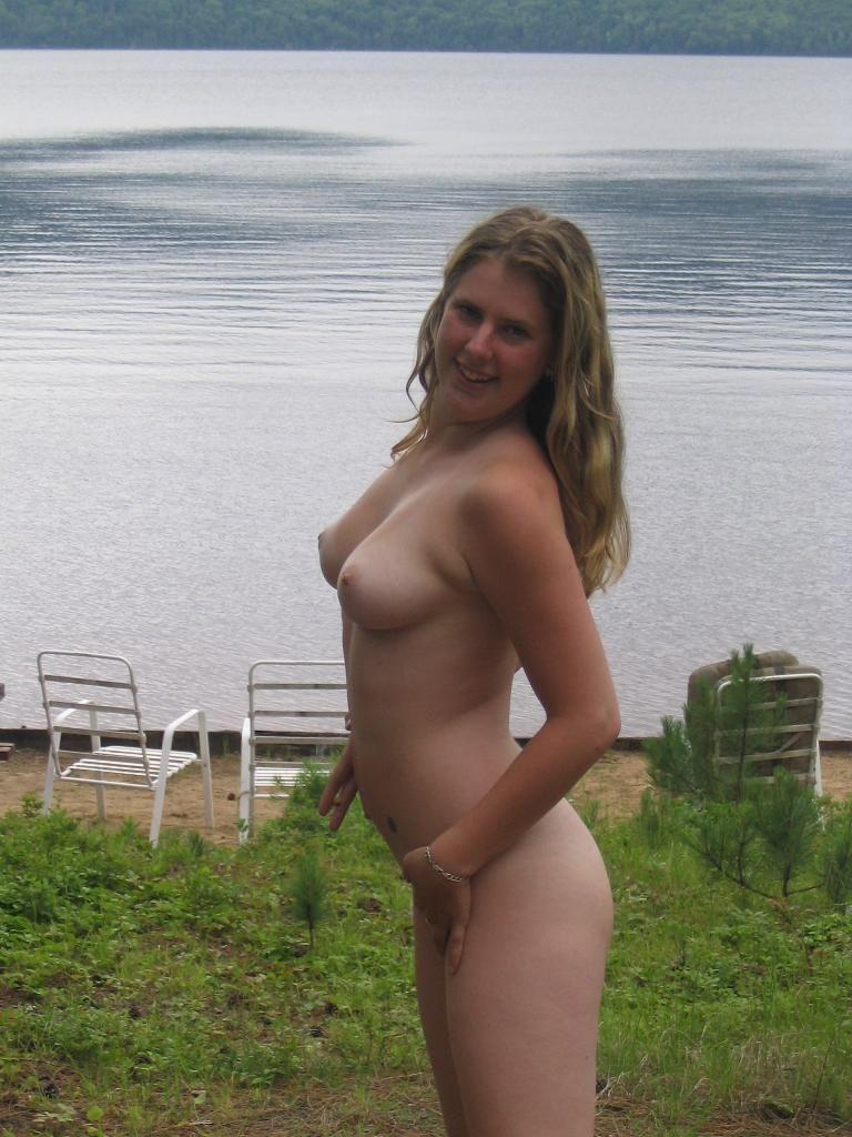 Busty Girl Outdoors  Russian Sexy Girls-5162