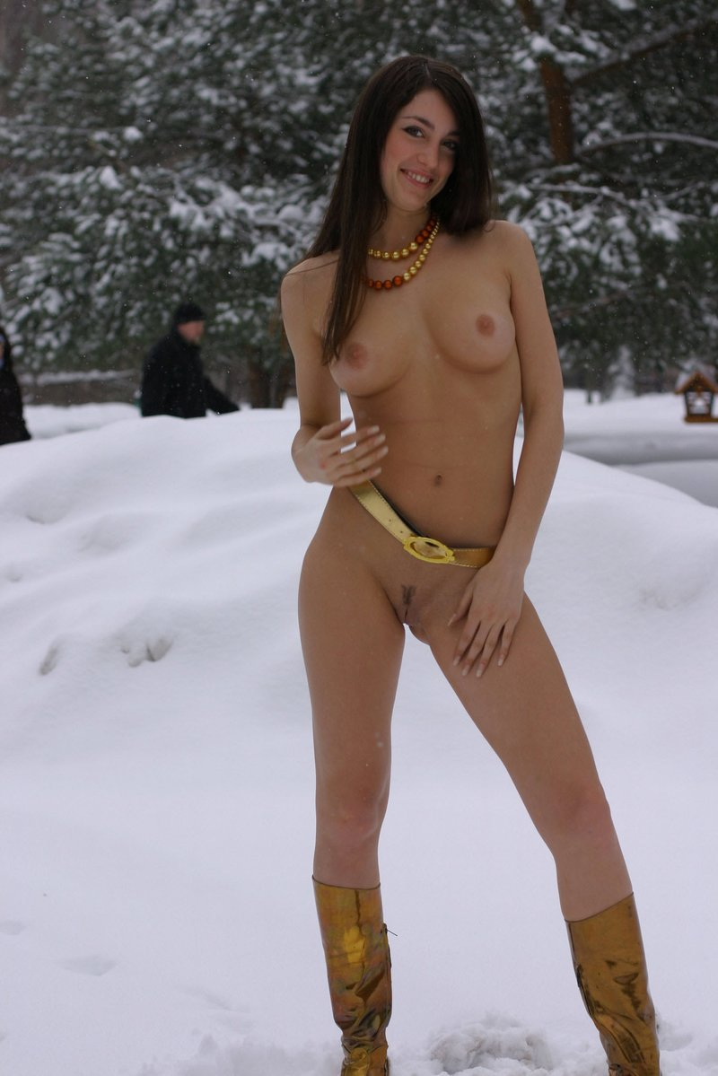 Congratulate, you Skinny russian brunette girls nude agree, excellent