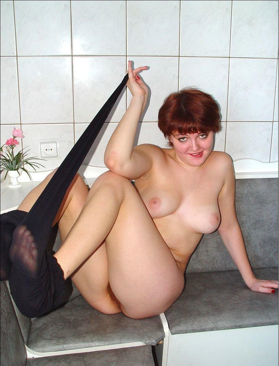 Fat Mature Redhead With Hairy Pussy  Russian Sexy Girls-4002