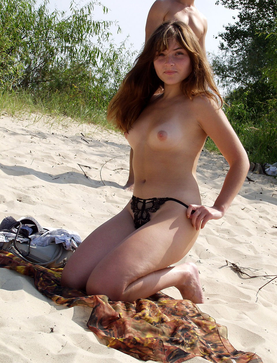Necessary words... Teens at nude beach