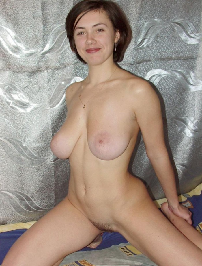 Young russian girl with really big boobs