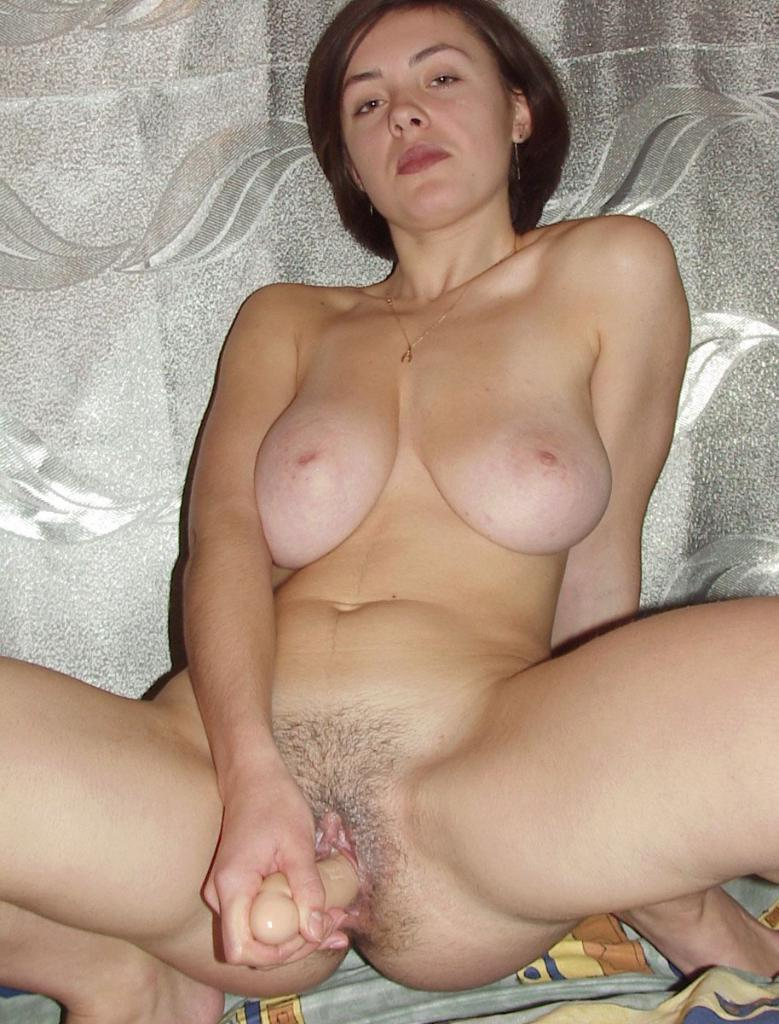 Think, that Hot milf with dildo