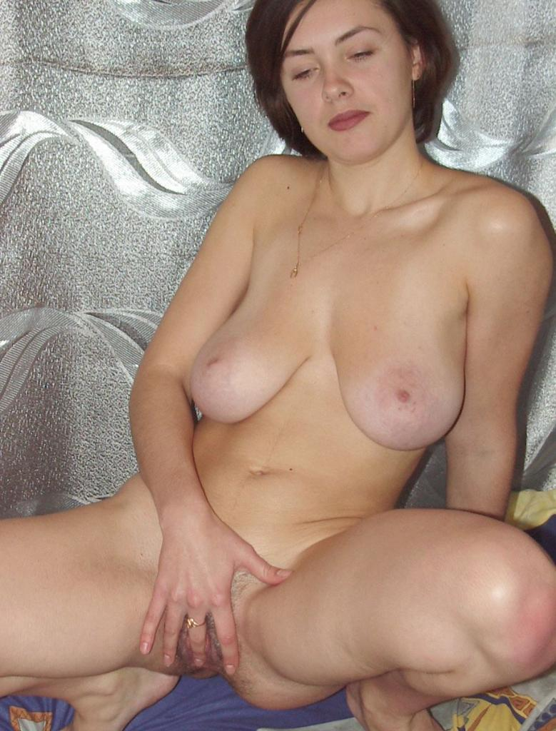 Hairy Mature With Dildo