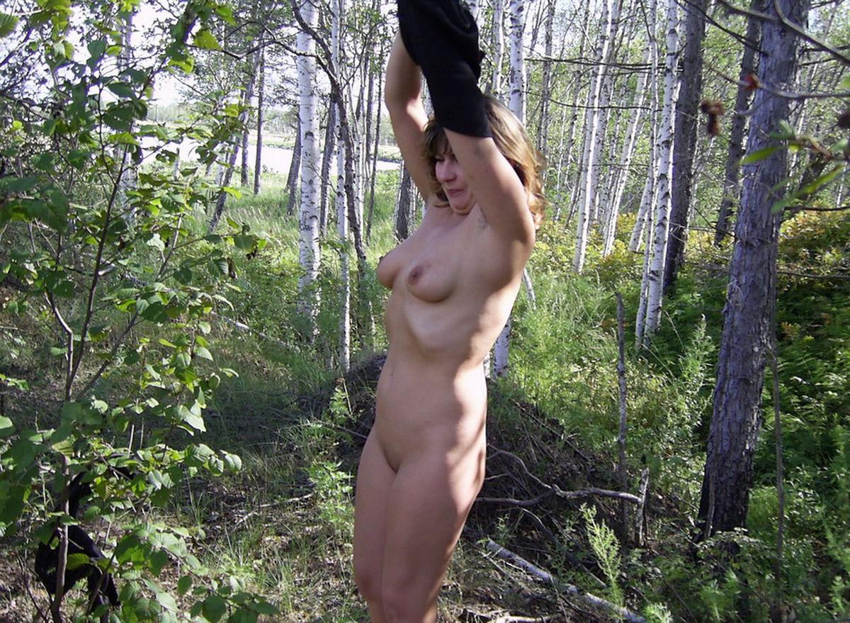 Фотки голой жены в лесу 30 фотография