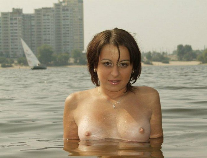 Russian girl with nice body