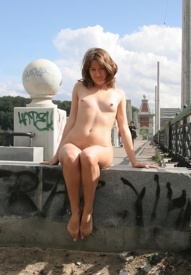 Naked wives in public