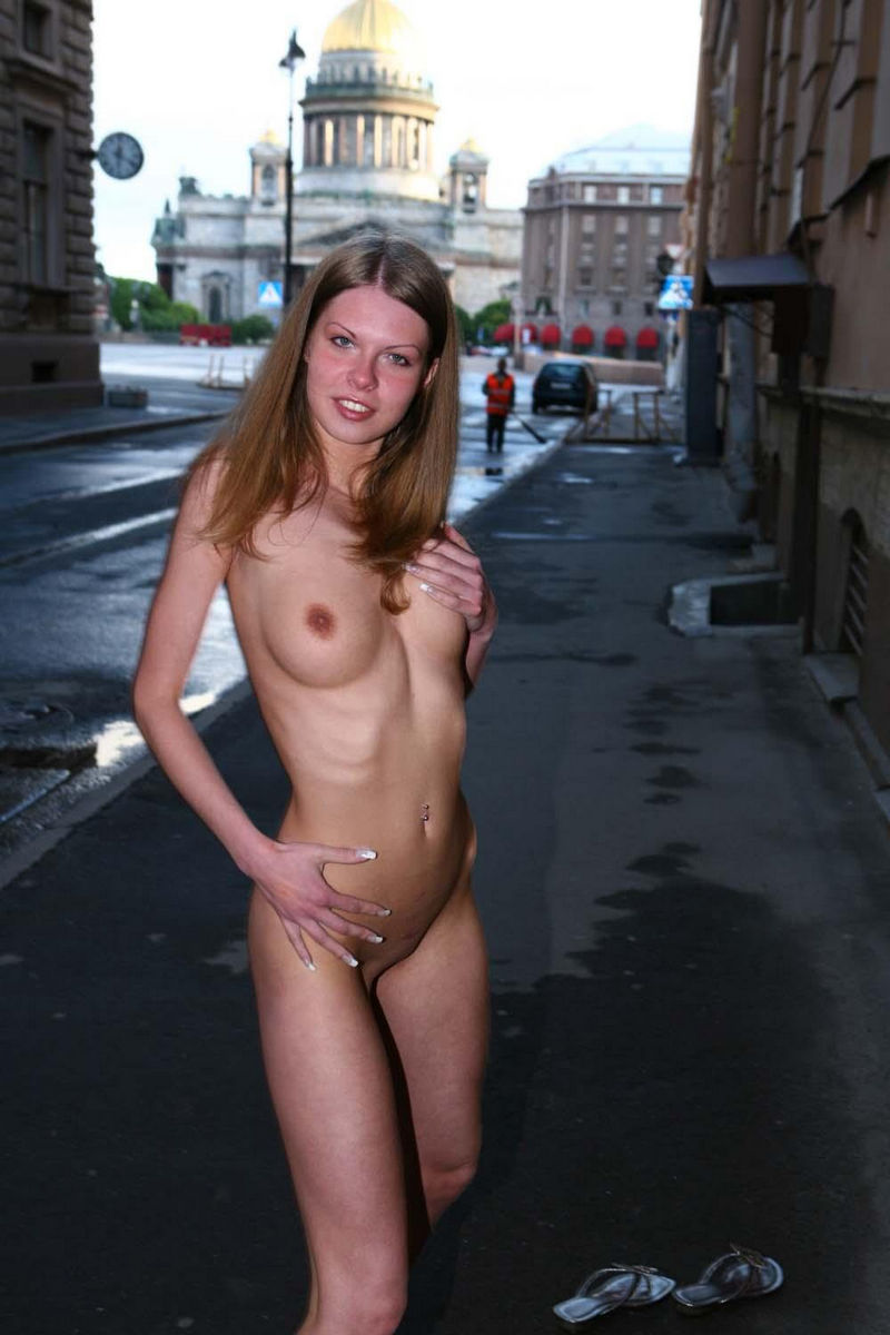 Join. Nude gals in public