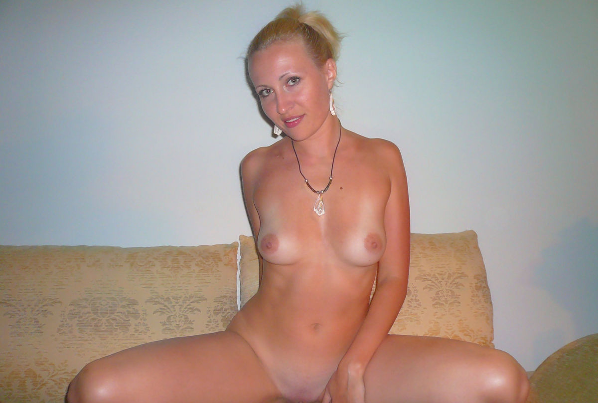 German blonde milf