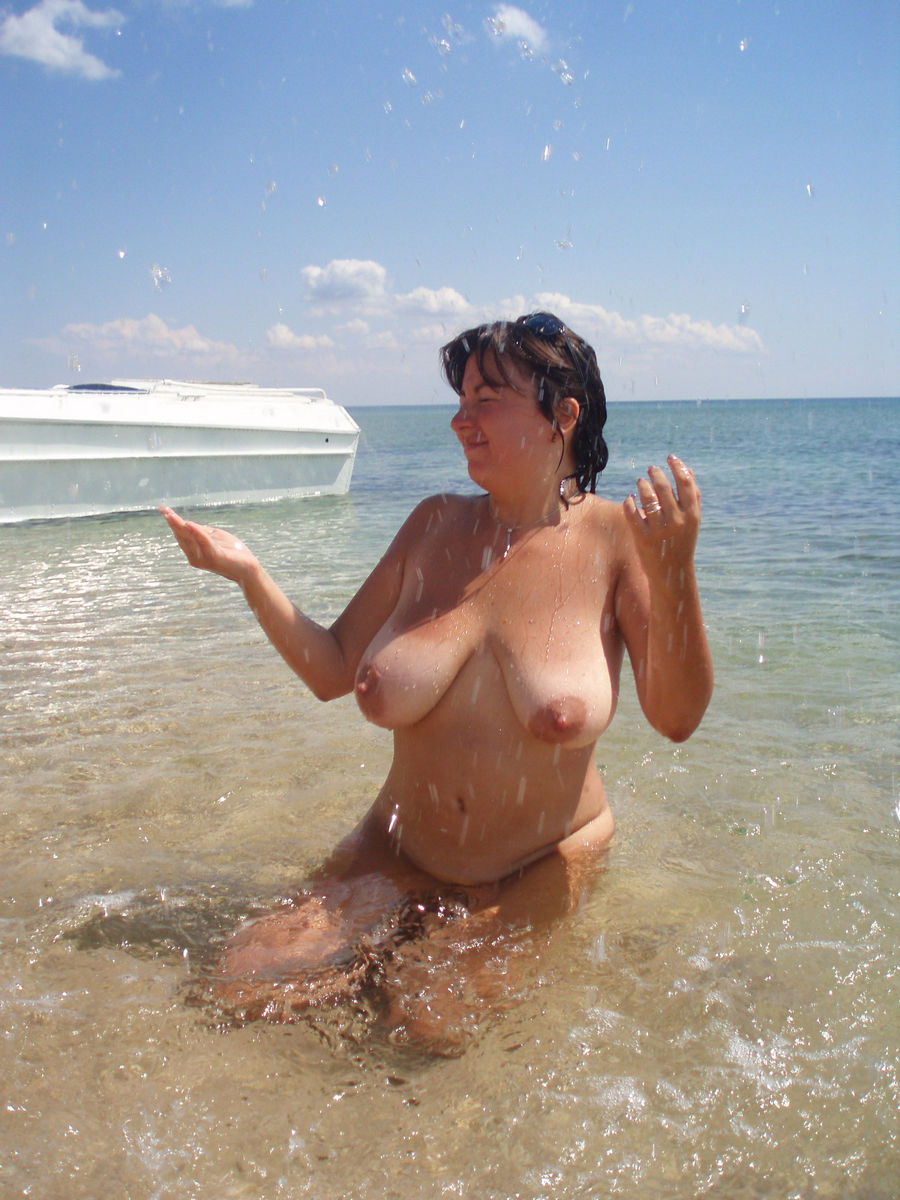 Naked older wife on beach absolutely perfect