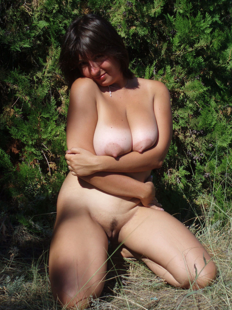 big Older woman tits with