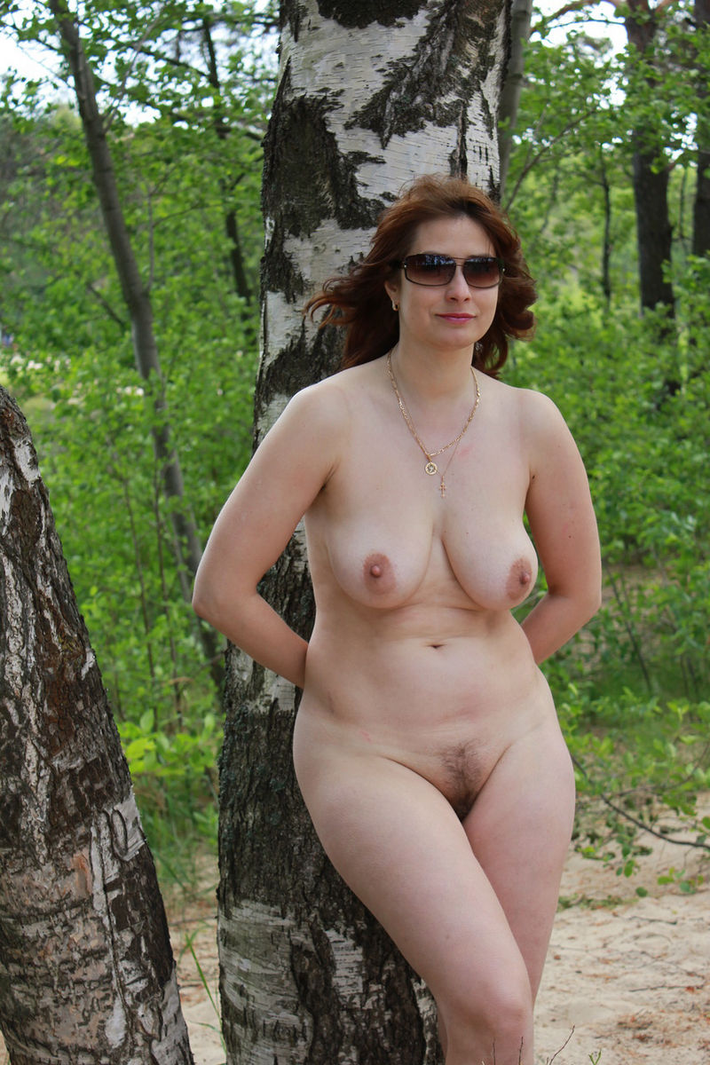 Granny old outdoors mature