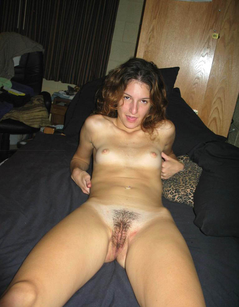 Casually Amateur natural hairy pussy opinion you