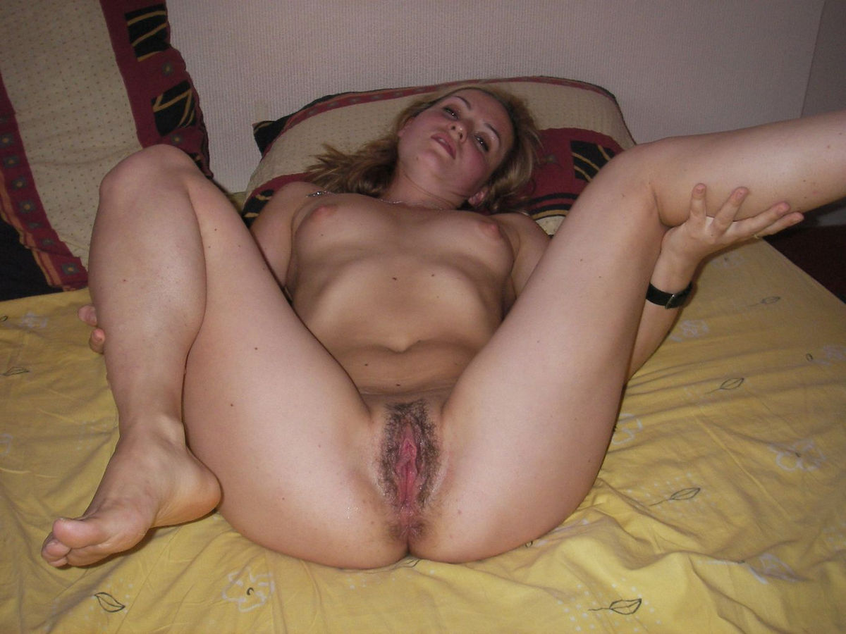 Blonde homemade hairy amateur wife