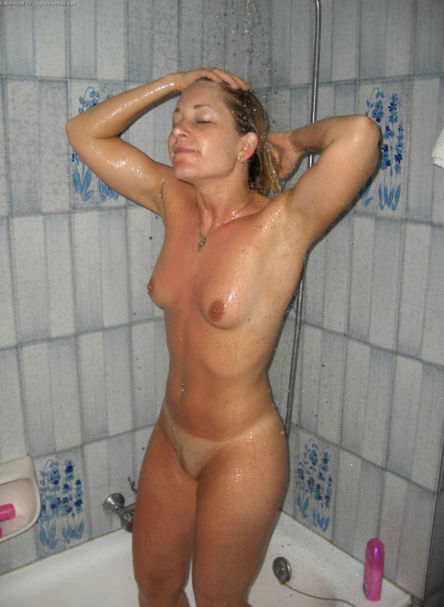 Version mature women showering naked right!