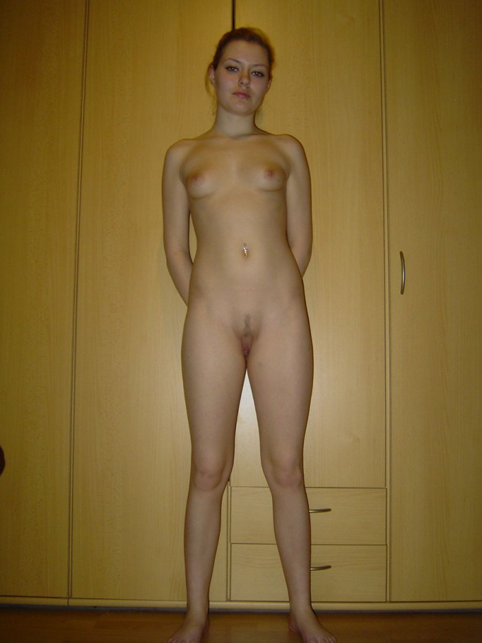 Sweet russian girl with nice body at home