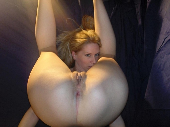 Consider, Blonde solo ass pussy really
