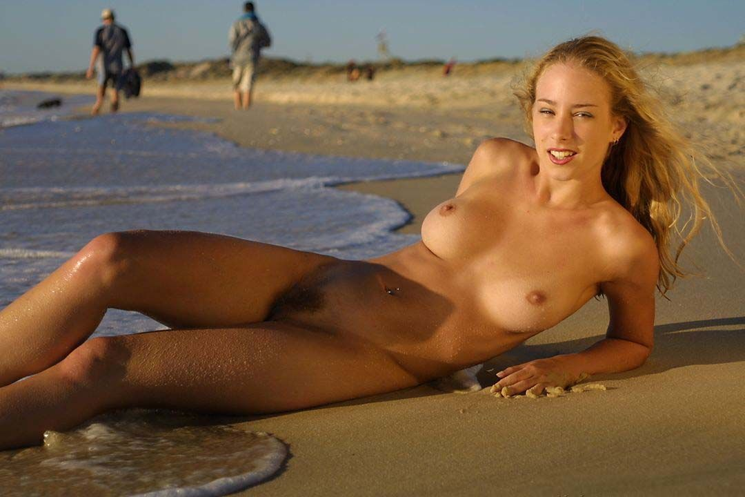 Girl on nude beach sex