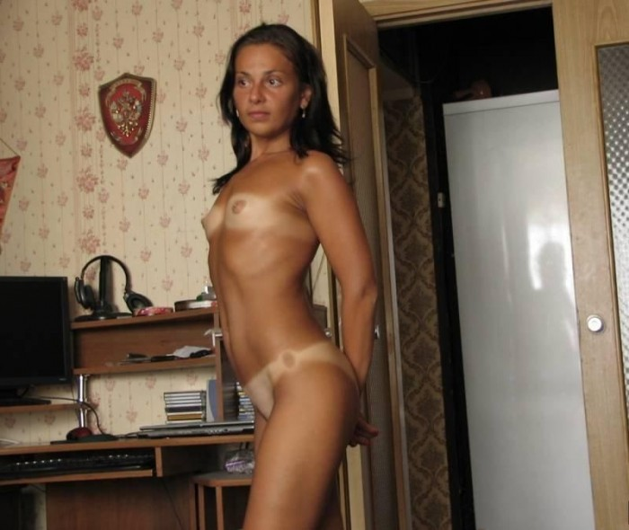 Hot skinny tan brunette pornstar remarkable, this