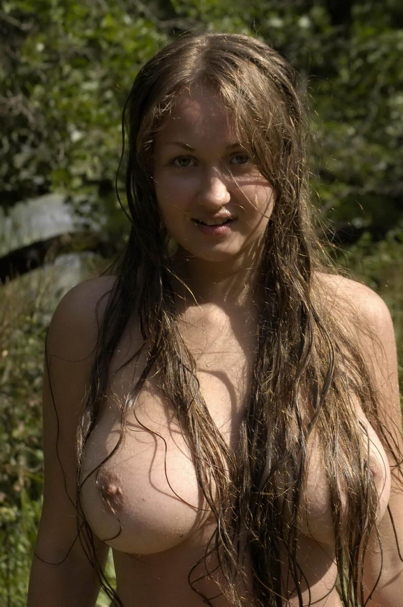 Big tits naked women outdoors business