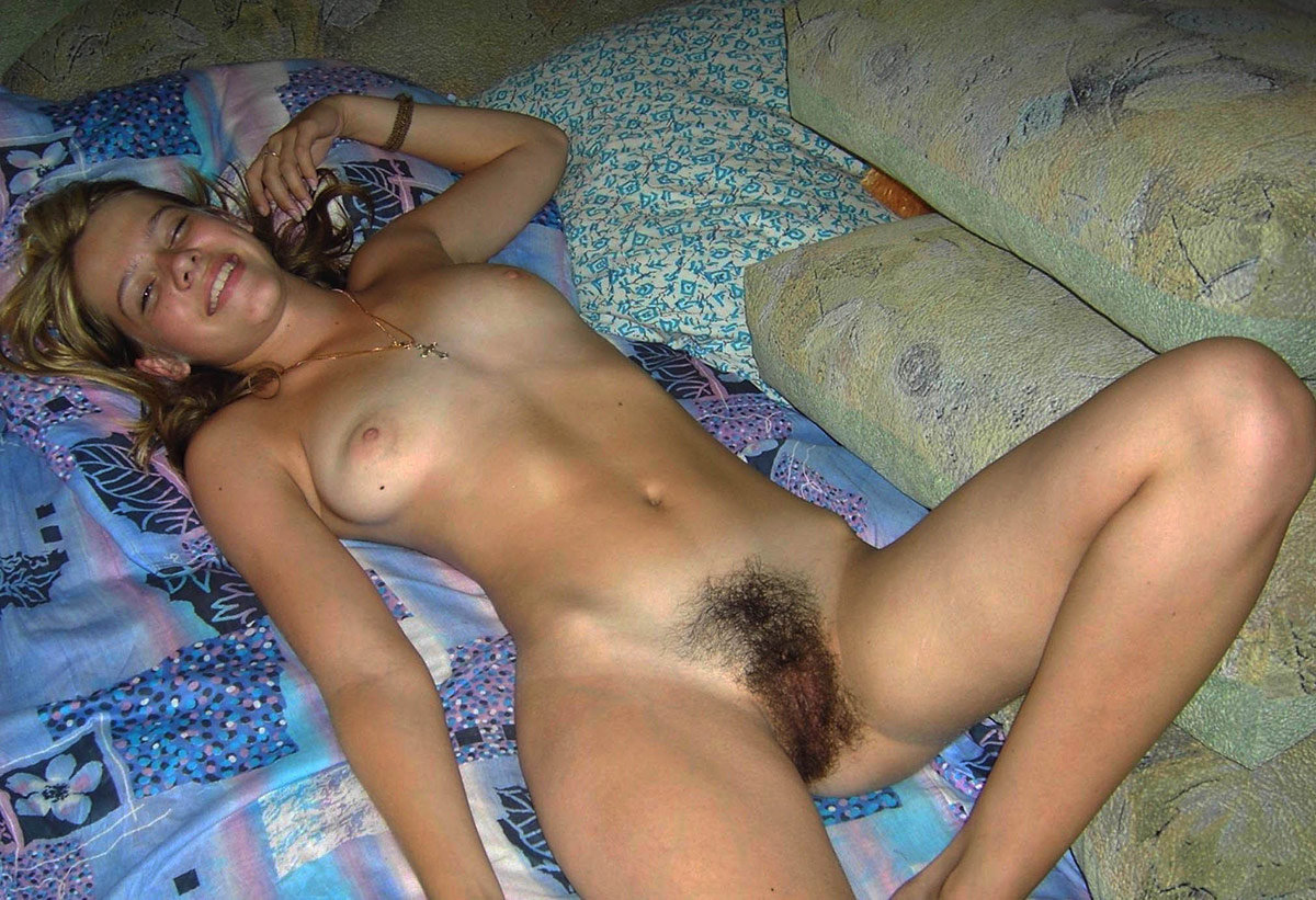 Lovely Russian Teen Girl With Nice Body And Hairy Pussy