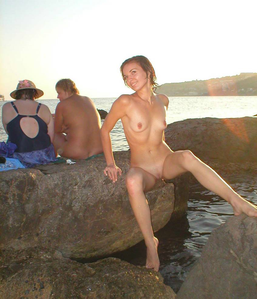 Nudist beach russia family hot stuff!