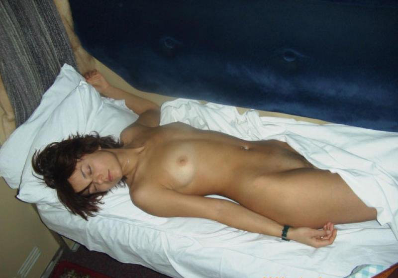 Sexy and sleeping nude have
