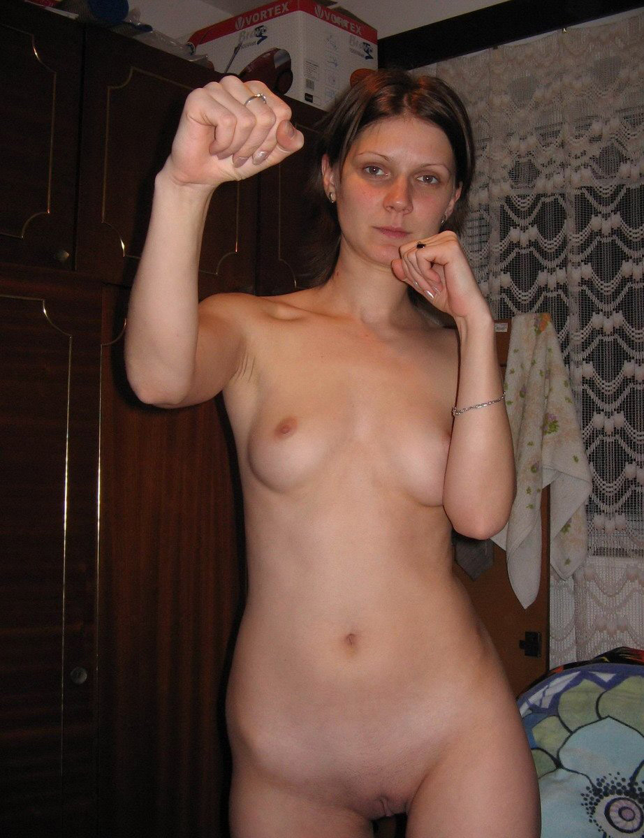 bride nude amateur Russian posing