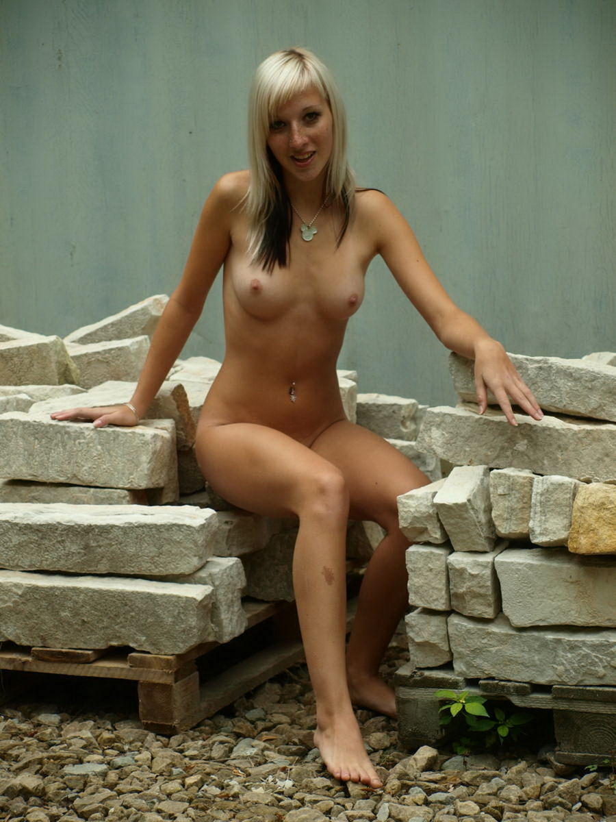 Blonde Anna With Piercing  Girls  Russian Sexy Girls-1968