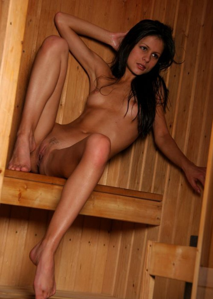 from Gilbert young naked girls is sauna