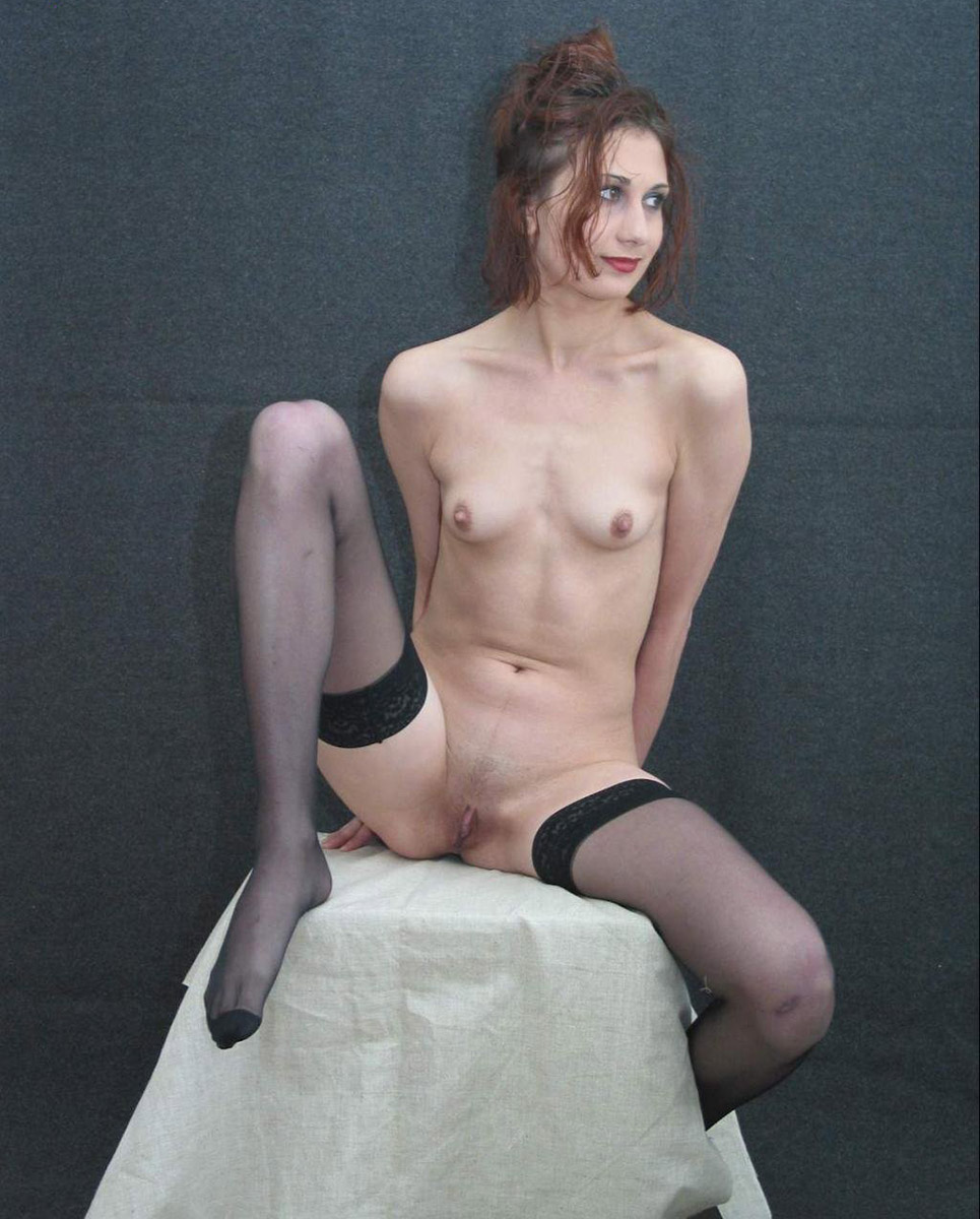 Girl shaved skinny mistake can
