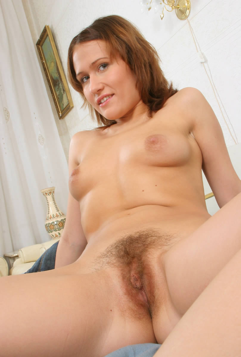 Girls showing their hairy pussy