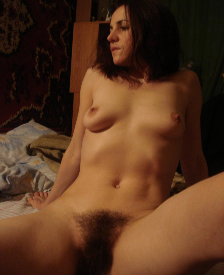 Old hairy clit