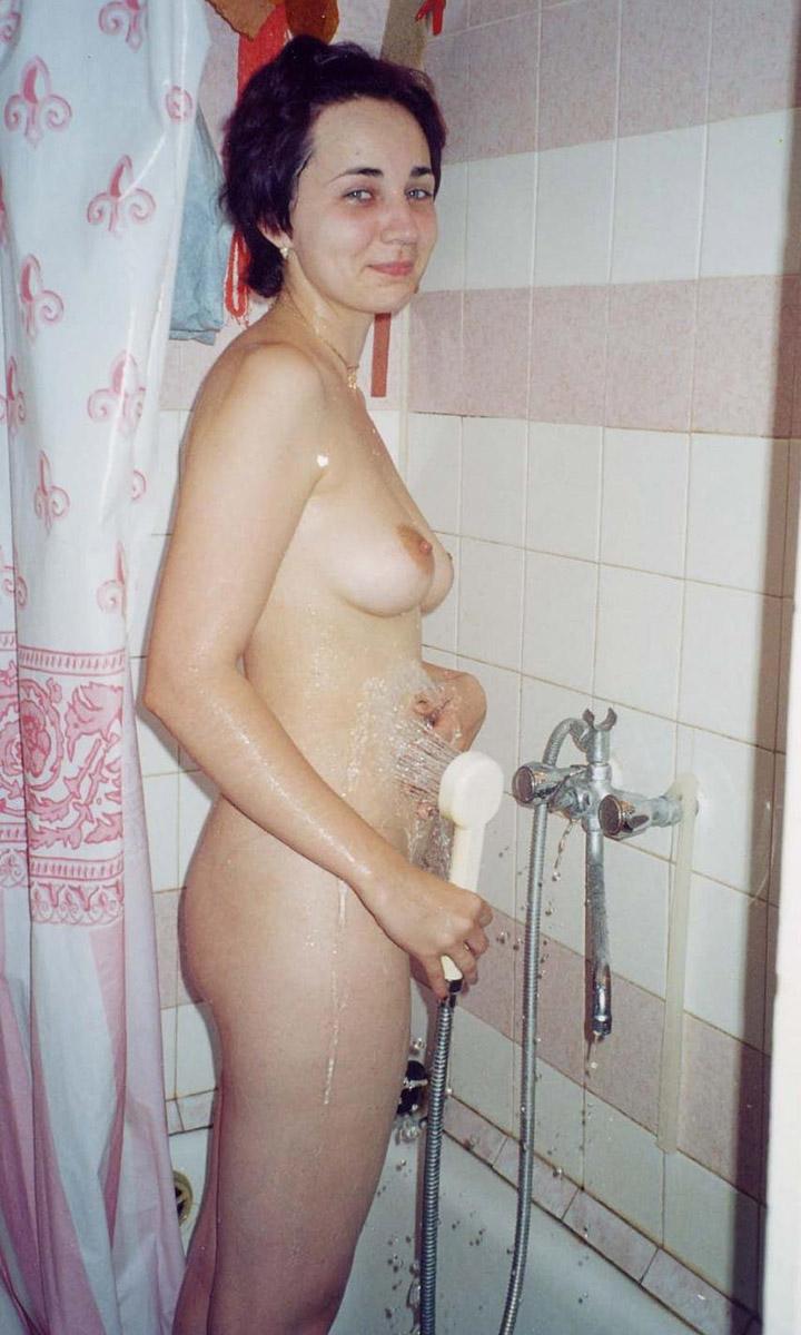Teen shower sex short hair