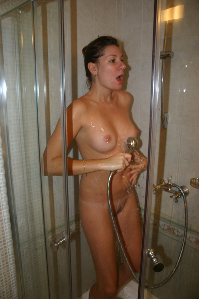 Big Tits Stepmom Shower
