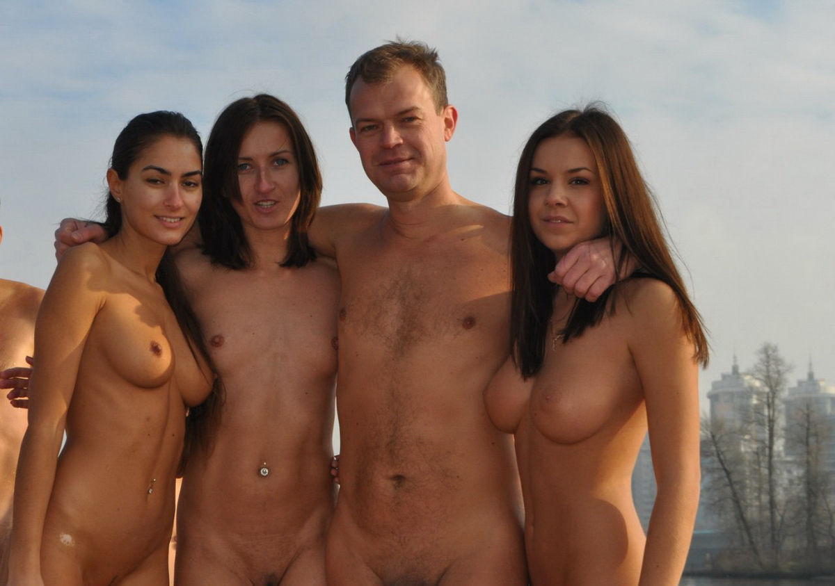 russian nudism ! Read more. Big group of russian nudists ...