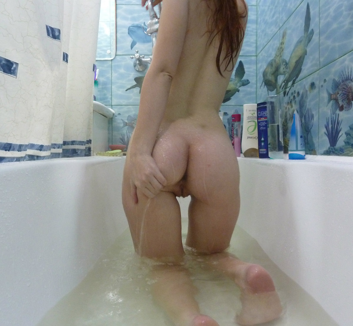 Sexy Teen With Hot Body Takes Shower - YouPorncom