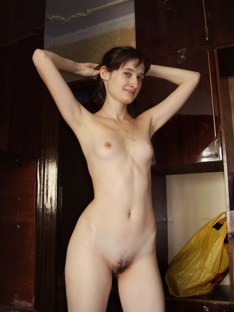 young sister caught naked