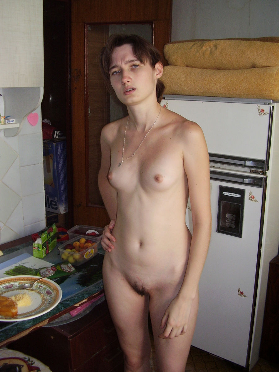 Amateur skinny nude girl pity, that