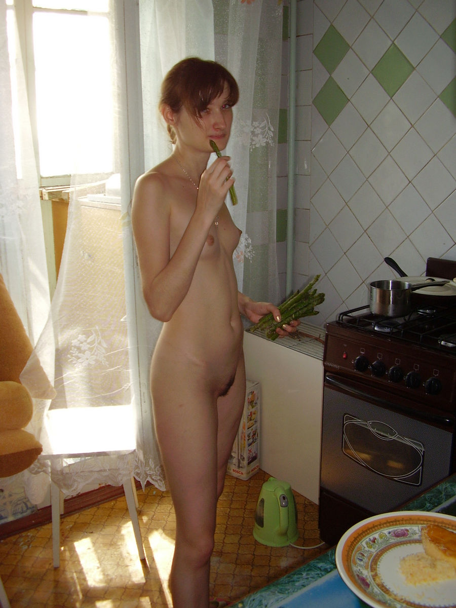 Opinion you black girl naked in kitchen consider, that